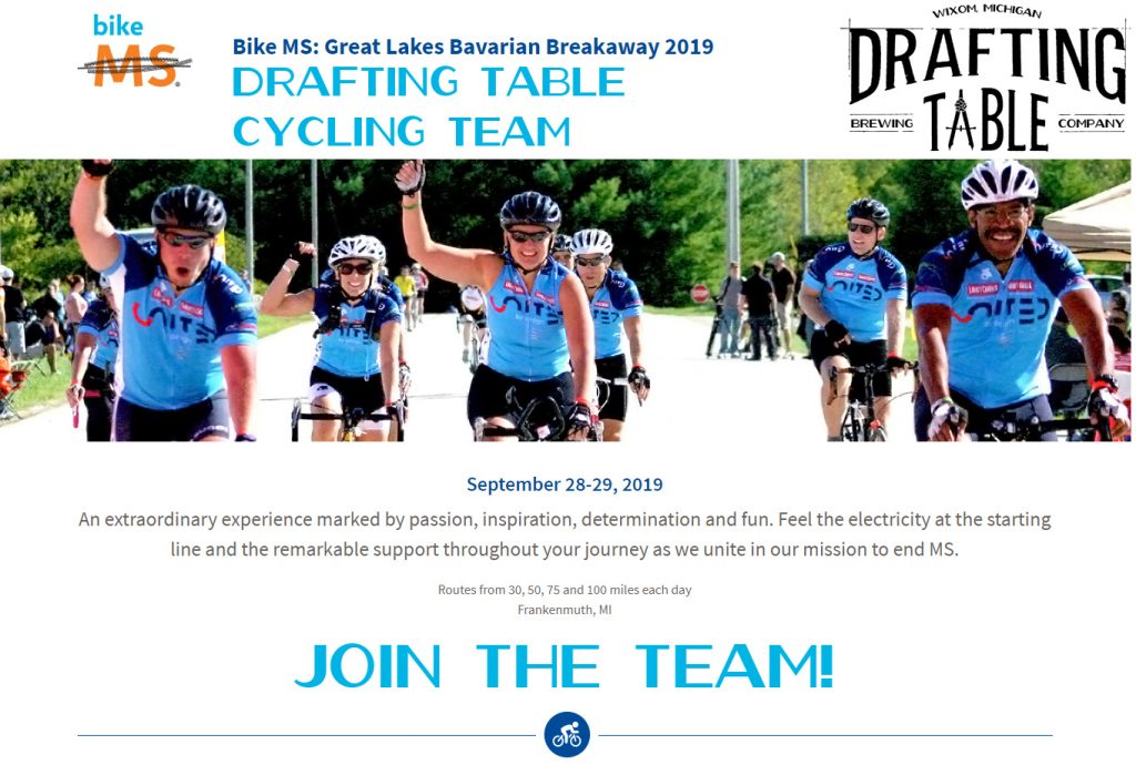 Drafting Table Cycling Team